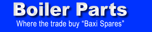 Baxi boiler & heating spare parts